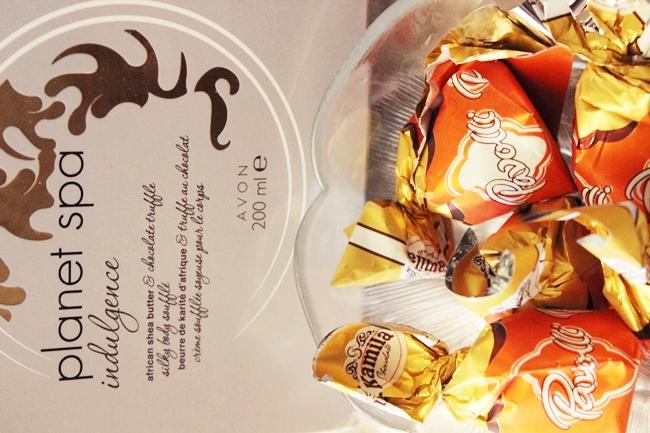 Avon planet spa Svilenkasti body souffle sa africkim shea-puterom i cokoladom