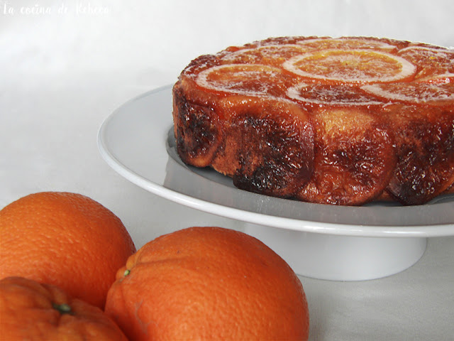 Bizcocho de naranjas confitadas