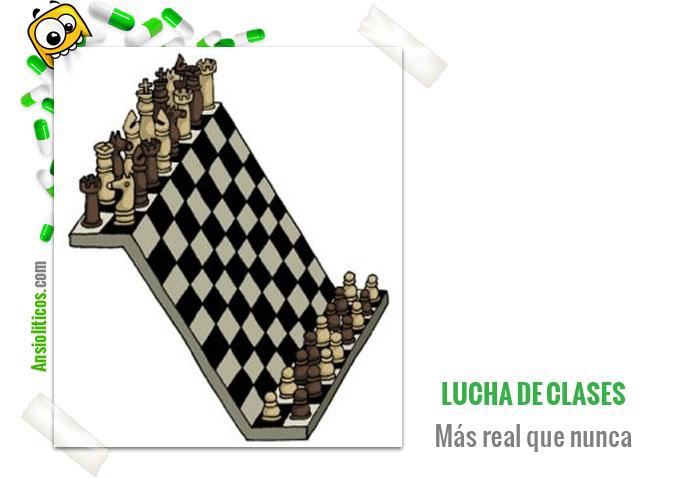 Chiste de Lucha de Clases: Fichas de Ajedrez