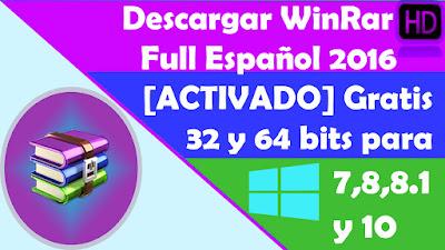 descargar winrar gratis español para windows 7 32 bits full