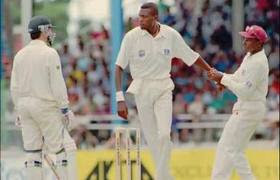 famous cricket sledging,ambrose,steve waugh,wallpaper,images