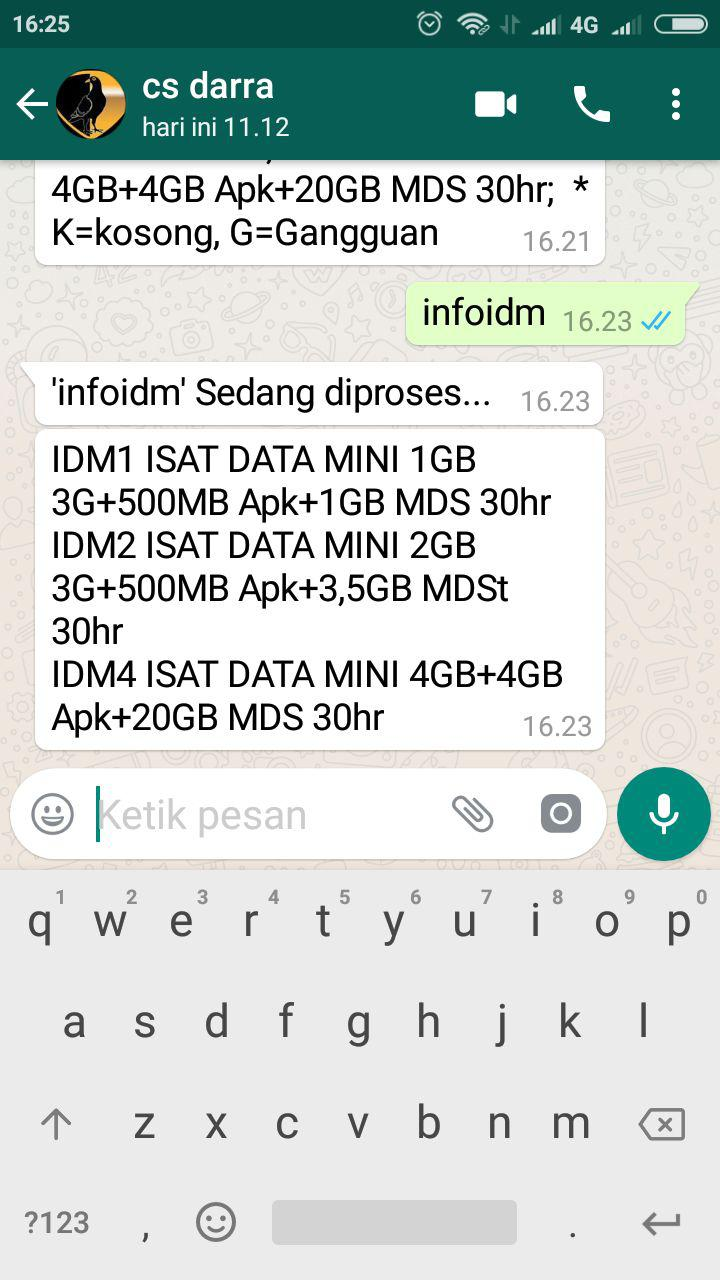 Cara Transaksi Pulsa Kuota Pln Menggunakan Whatsapp Darra Reload
