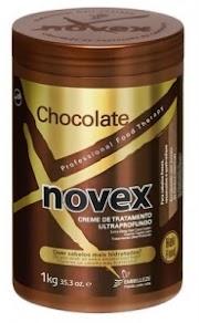 Creme de cabelo Novex cheiro de chocolate