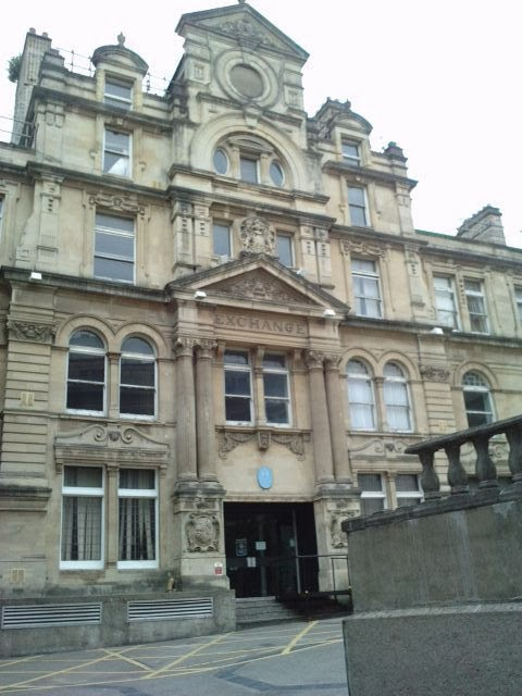 The coal exchange, Cardiff