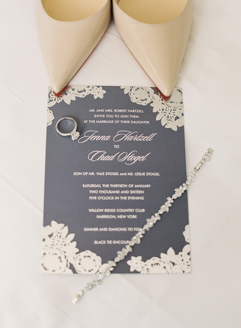 Wedding stationery, shoes, and jewelry | Karen Hill Photography