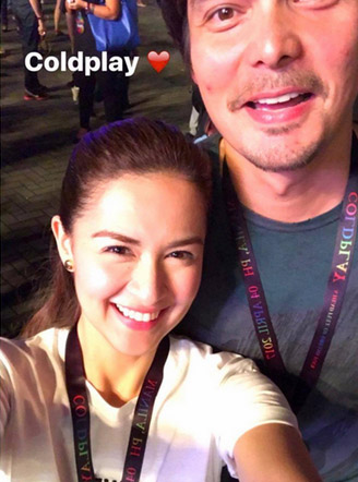 These Celeb Couples Were Spotted at the Coldplay Concert!