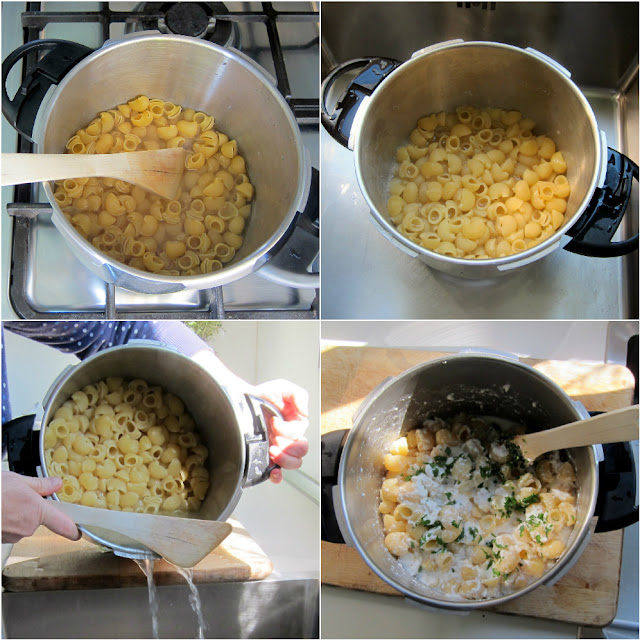 pressure cooker pasta step-by-step photos in magefesa ideal pressure cooker