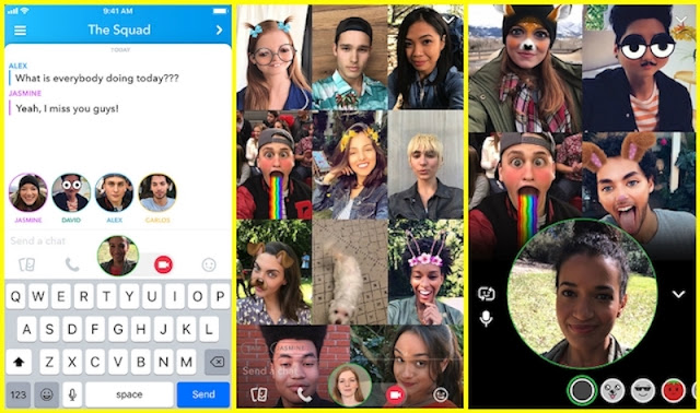Snapchat Rolls Out Group Video Calling for Both Android and iOS Users