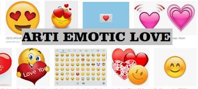Rahasia dan arti emoticon whatsapp