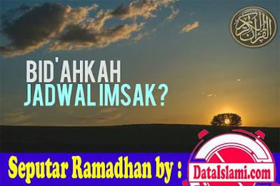 Jadwal Imsakiyah Puasa Ramadhan 2018 (1439-1440 H)