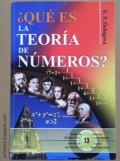 jarban02_pic077: ¿Qué es la teoría de los números? de E.P. Ózhigova