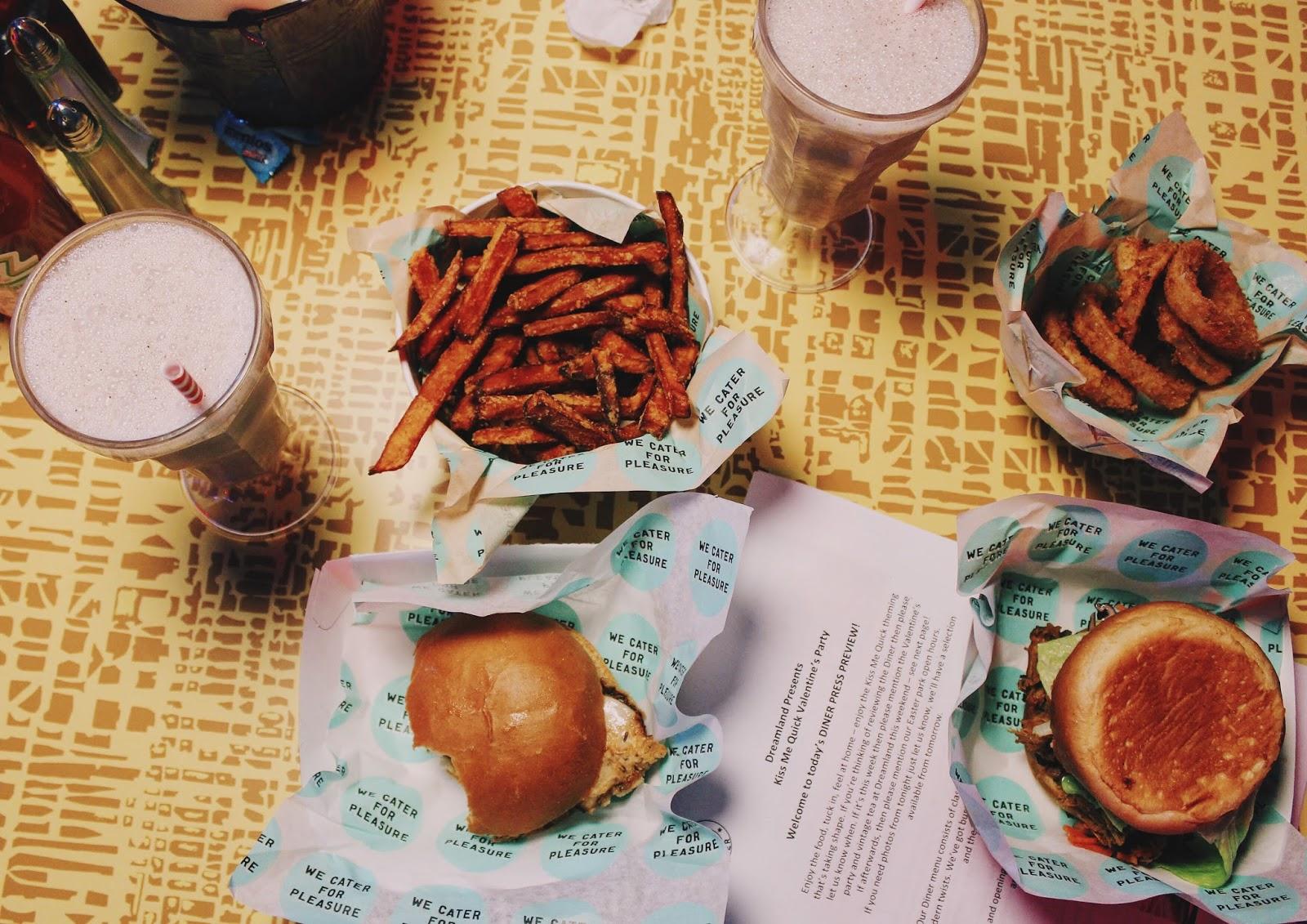 food at dreamland margates new roller disco diner