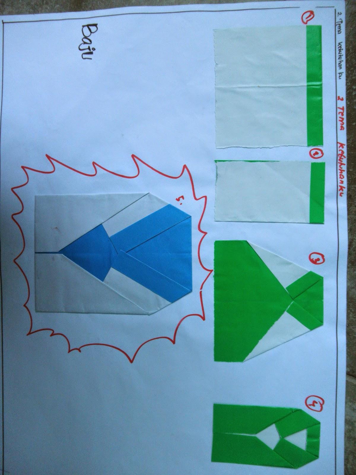 contoh origami melipat kertas untuk PAUD berdasarkan