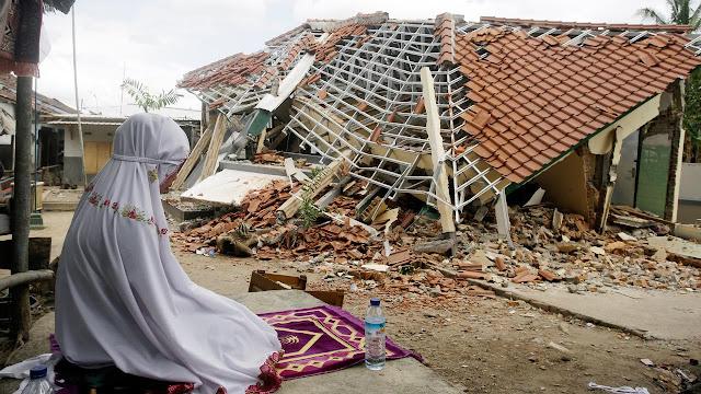 Korban Gempa NTB Bertambah, 401 Orang Meninggal Dunia