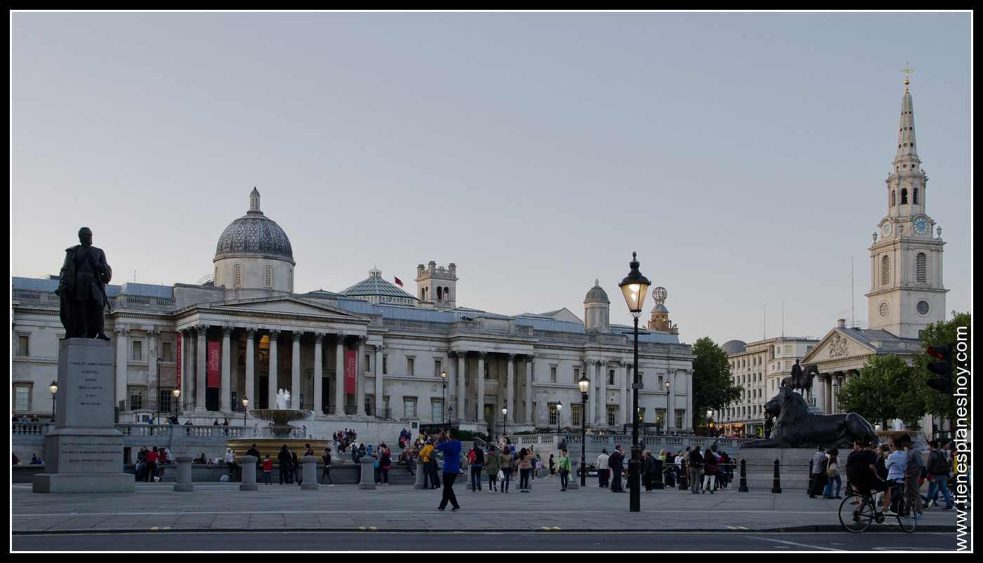 Trafalgar Square Londres (London) Inglaterra