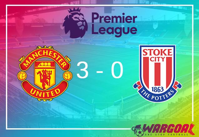 highlight manchester united vs stoke