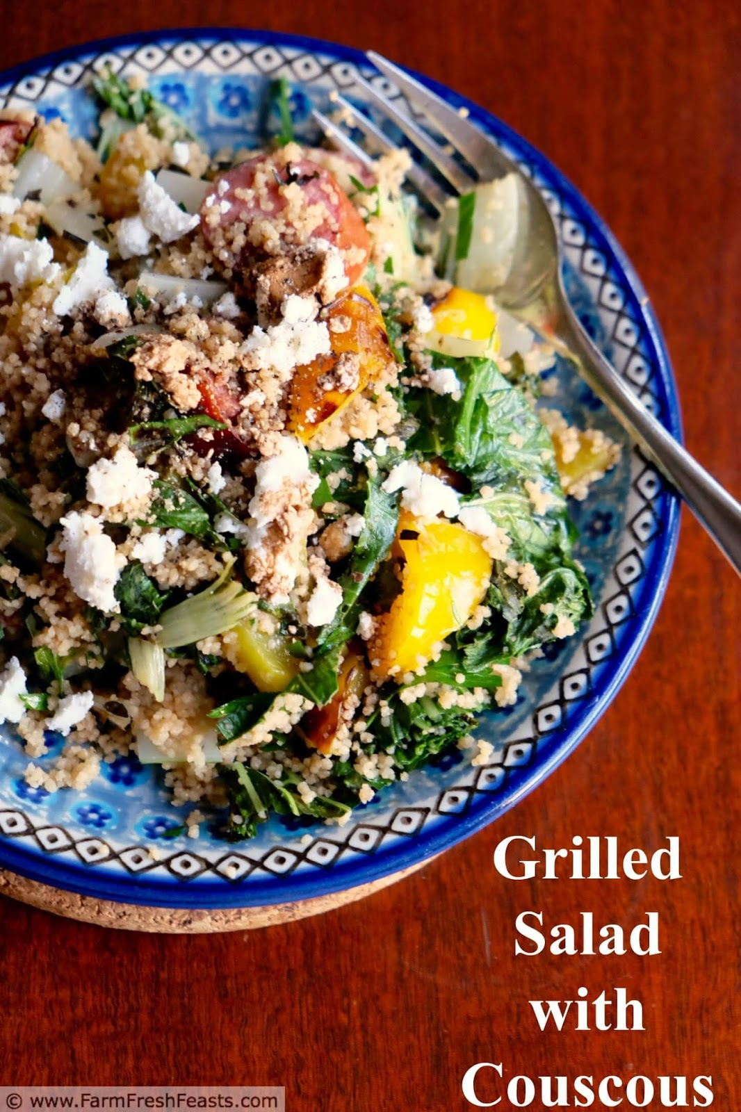Farmhouse Rules Salad Recipes Farm Fresh Feasts Grilled Greens Salad With Couscous
