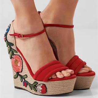Sandale cu platforma GUCCI