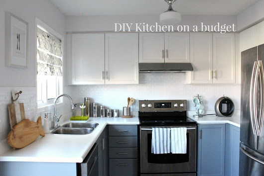 DIY Kitchen on a budget: Before & After (part 1)