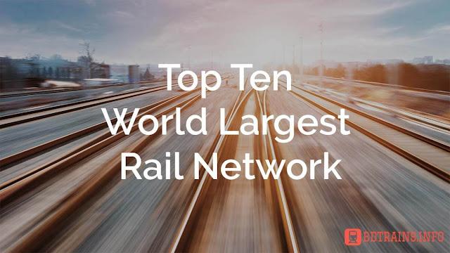 Top Ten World Largest Rail Network