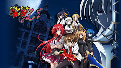 Highschool DxD New BD Sub Indo