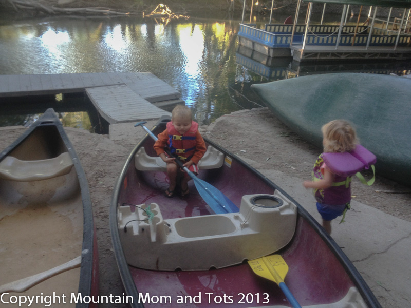 Canoeing The Provo River With Clas Ropes Course Mountain