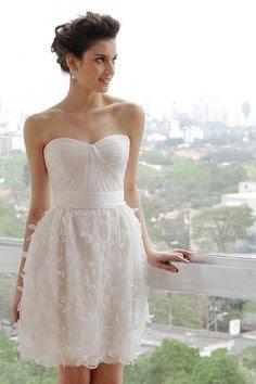 vestido de noiva curto fotos