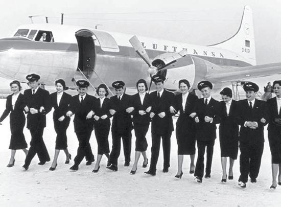 Lufthansa crew 1955