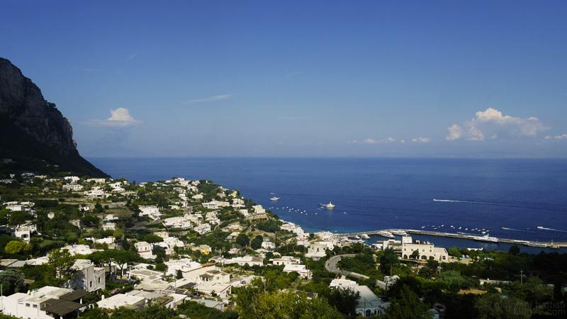 Panorama di Capri
