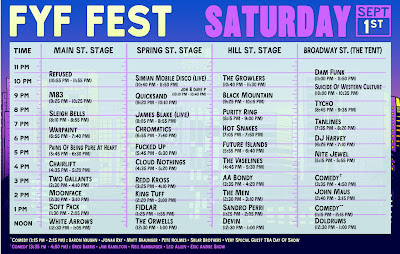 Hard Choices- FYF SET TIMES
