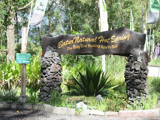 Tempat Wisata Pemandian Air Panas Toya Bungkah Kintamani