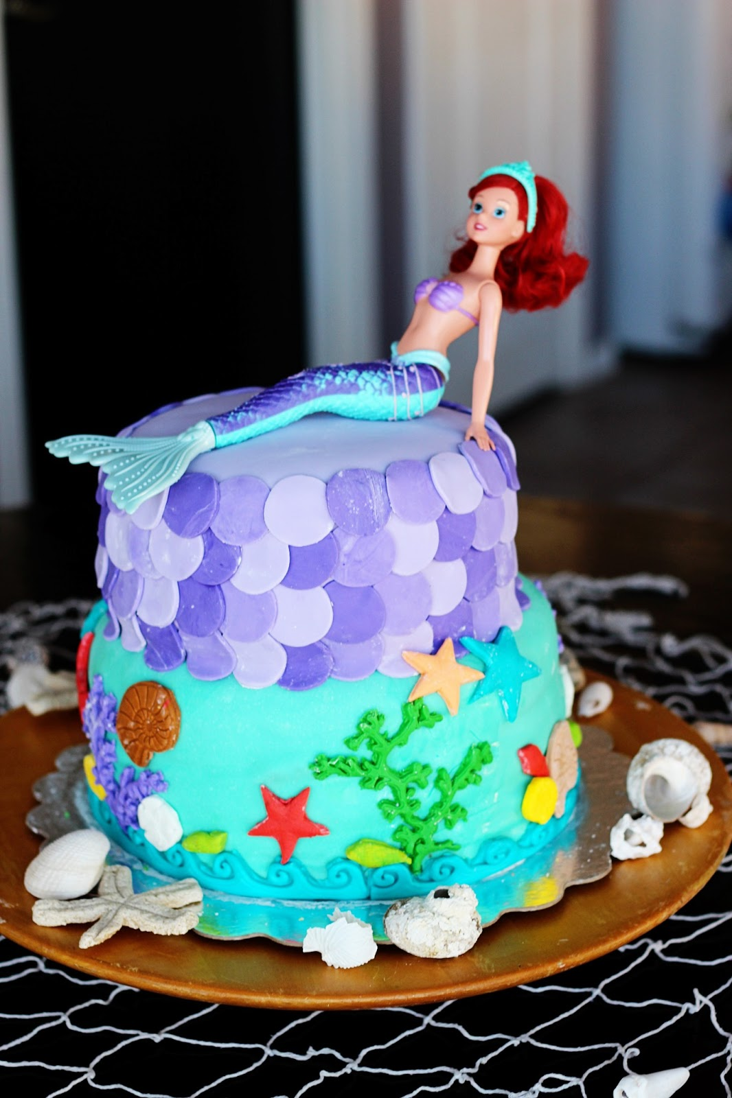Sparklinbecks A Mermaid Party For A 3 Year Old