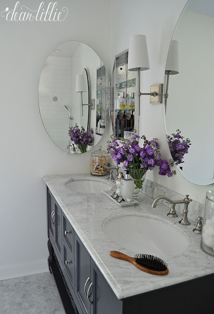 Dear Lillie: Our Almost Finished Master Bathroom Makeover with ... on
