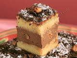 Tarta de Queso Crema con Chocolate y Nueces