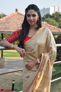 Angana Roy in Silk Saree at Teaching Tree Carnival .xyz 013.JPG