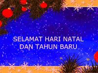 60+ Ucapan Selamat Natal (Terlengkap) untuk Tahun Baru 2019