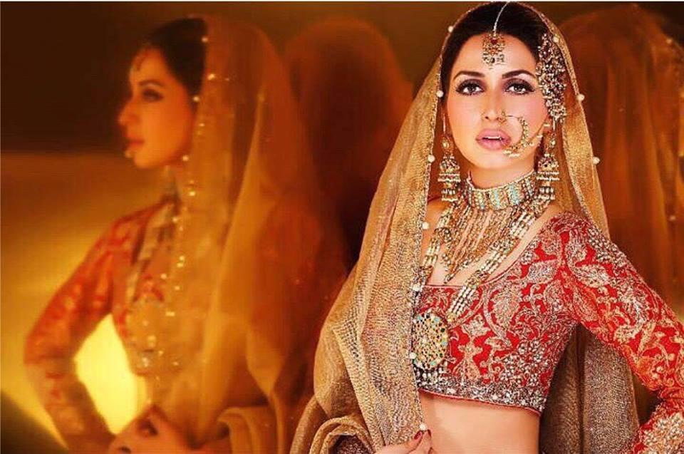 Recent Bridal Shoot of Iman Ali .
