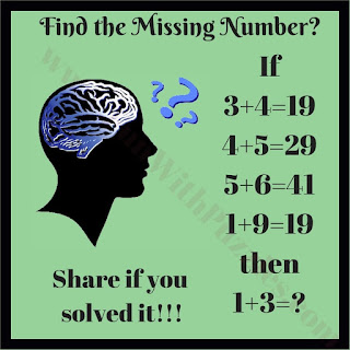 Maths Logic Brain Teaser
