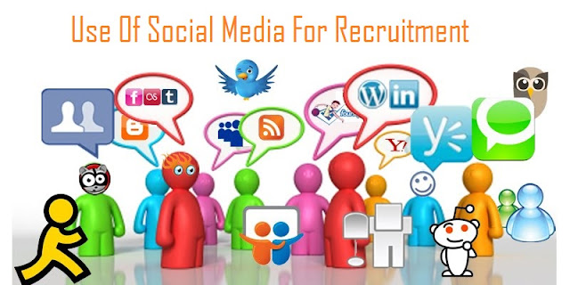 Use Of Social Media For Recruitment [Infographic]