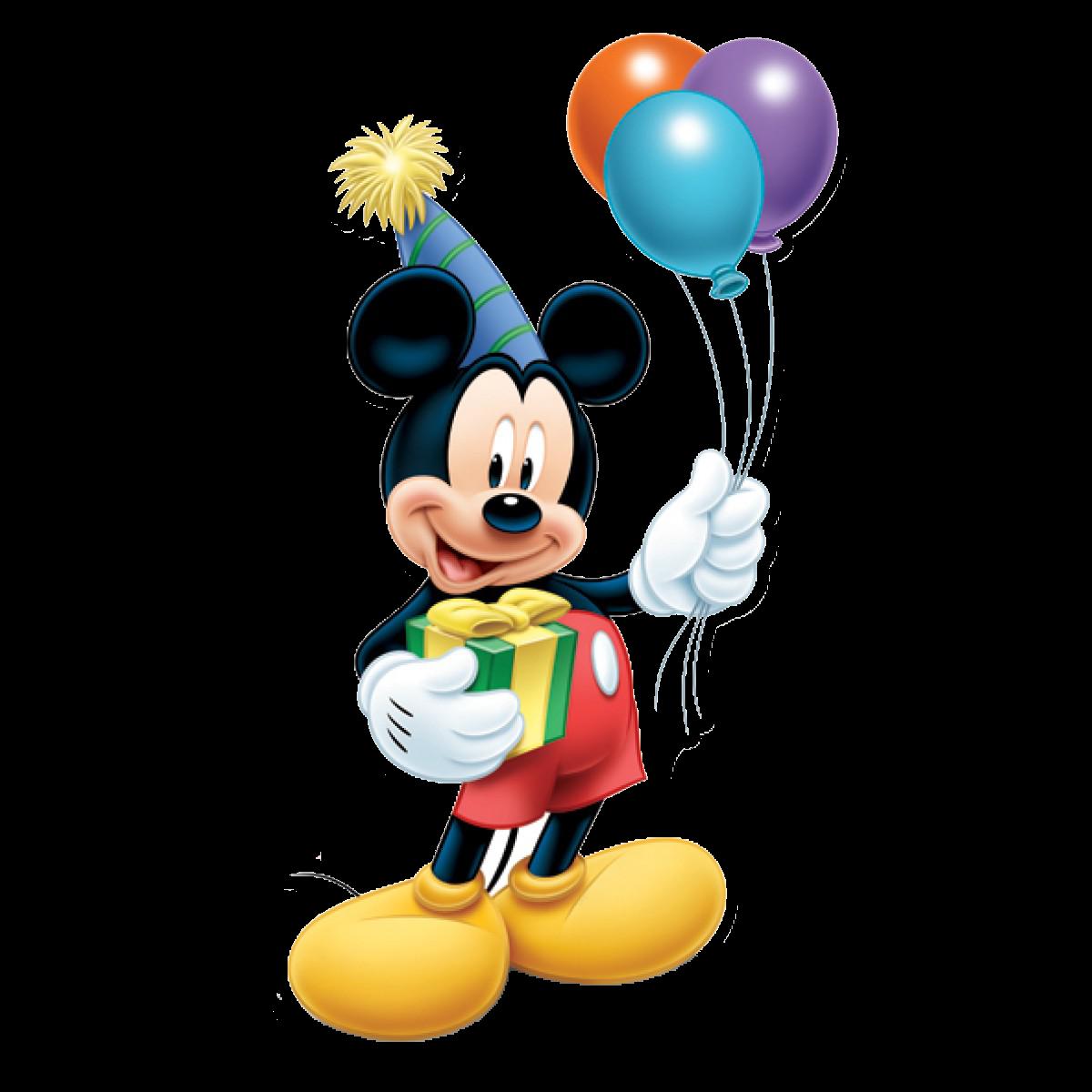 Микки маус картинка с днем рождения