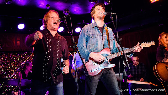 Peter Elkas and JC at The Horseshoe Tavern 70th Anniversary Party at The Legendary Horseshoe Tavern on December 5, 2017 Photo by John at One In Ten Words oneintenwords.com toronto indie alternative live music blog concert photography pictures photos