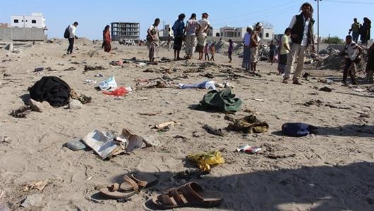 Pasukan Bayaran Saudi Hujani al-Hudaydah dengan Mortir