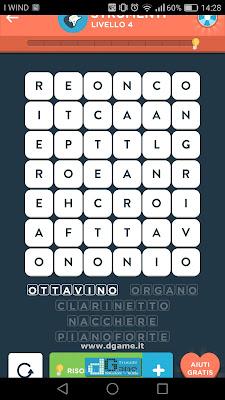 WordBrain 2 soluzioni: Categoria Strumenti (6X7) Livello 4