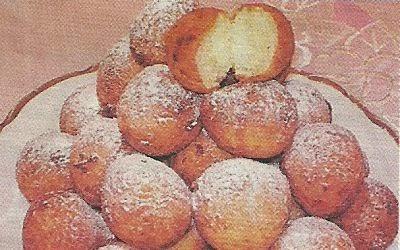 Состав продуктов и способ приготовления творожных шариков