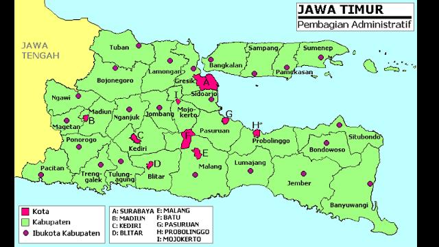 Daftar Grabcar Grabbike Jawa Timur Jatim