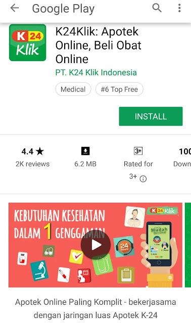 Apotek online K24Klik