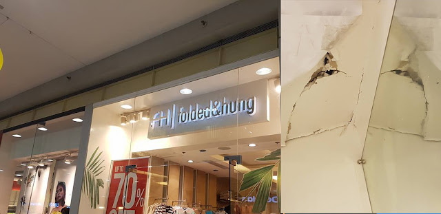 "Folded & Hung Staff Accused of ""Pamboboso"" in a Store's Fitting Room."