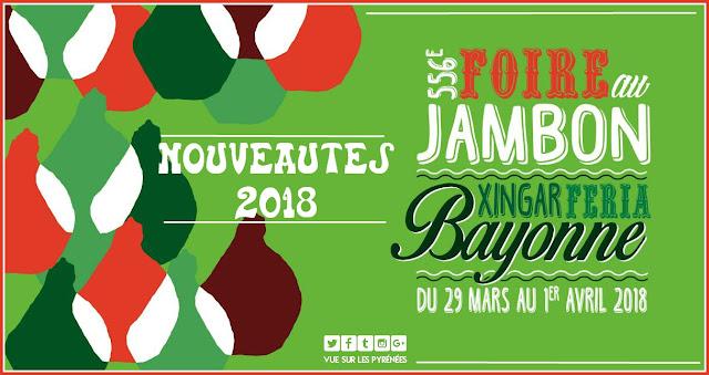 Nouveautés de la foire au jambon de Bayonne 2018