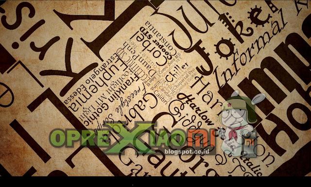 Download Koleksi Font Unicode Untuk Xiaomi Terbaik
