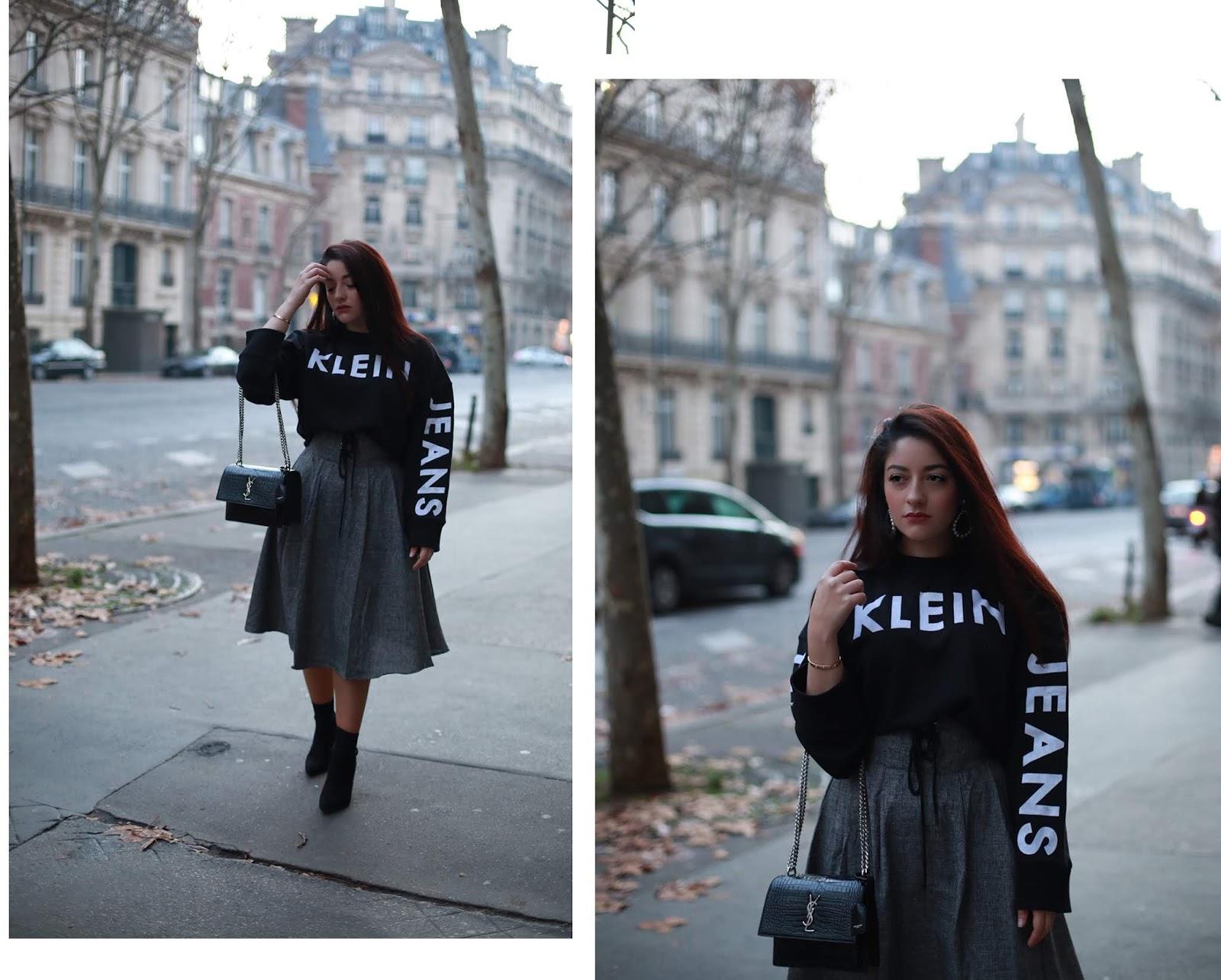 sweat minimaliste Calvin Klein